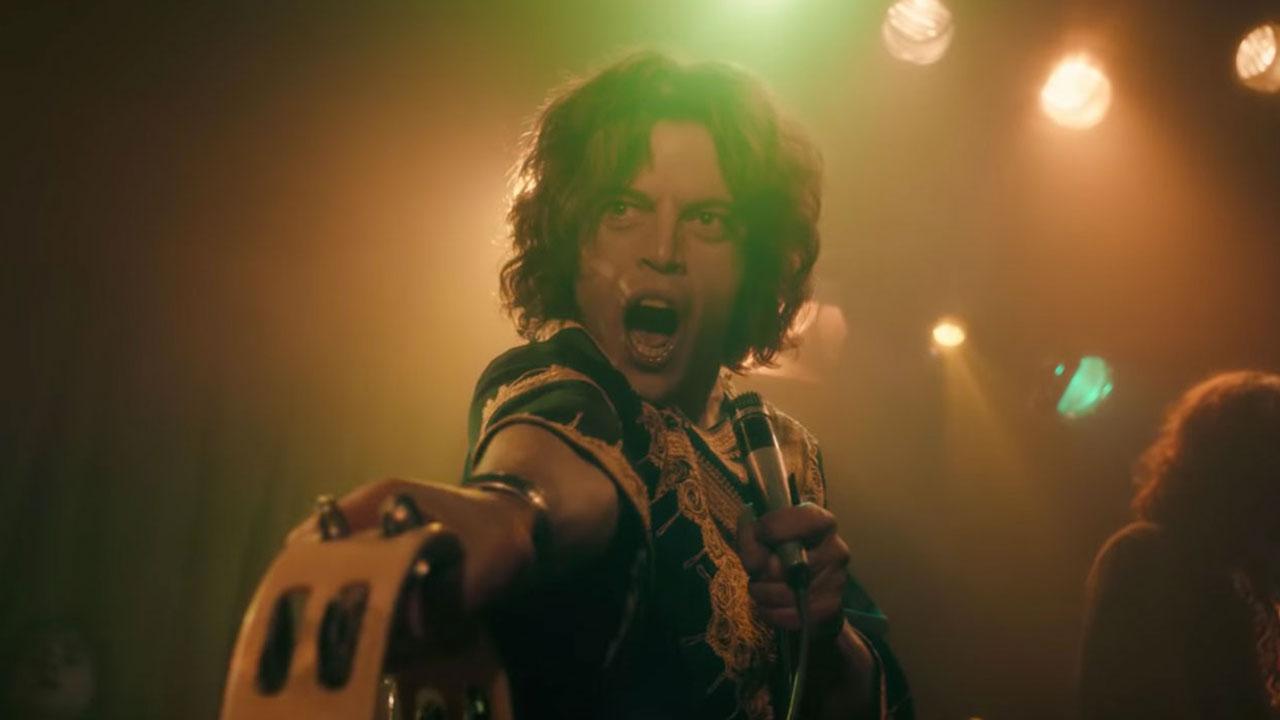 In foto Rami Malek (40 anni) Dall'articolo: Per Boldi e De Sica non c'è gara, Bohemian Rhapsody supera Amici come prima.