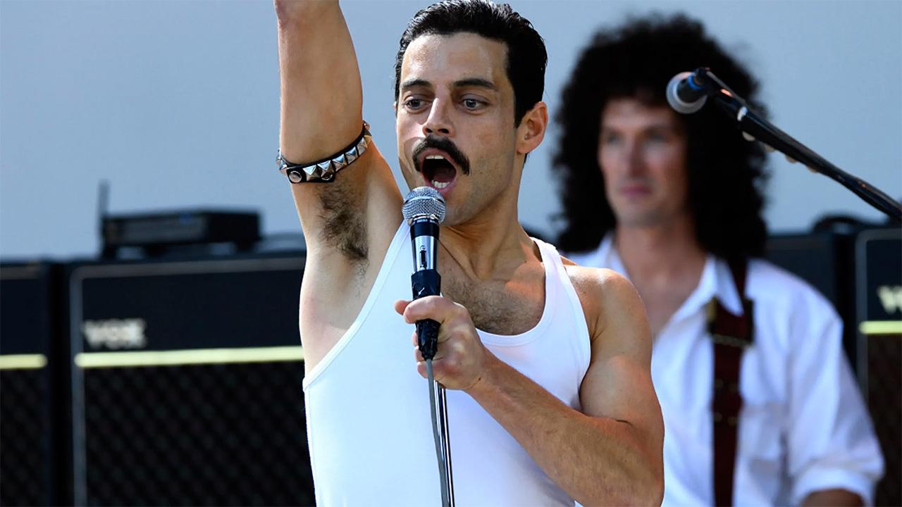 In foto Rami Malek (40 anni) Dall'articolo: Immenso Bohemian Rhapsody: sfondato il muro dei 22 milioni.