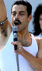 In foto Rami Malek (38 anni) Dall'articolo: Immenso Bohemian Rhapsody: sfondato il muro dei 22 milioni.