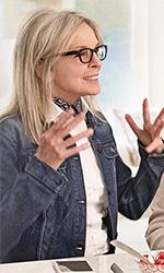 In foto Diane Keaton (73 anni) Dall'articolo: Book Club, può un libro riaccendere la passione a 70 anni?.