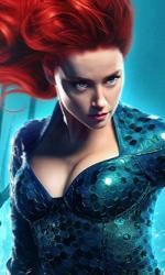 In foto Amber Heard (33 anni) Dall'articolo: Per Aquaman è ancora festa: ottimo lunedì e primato al box office.