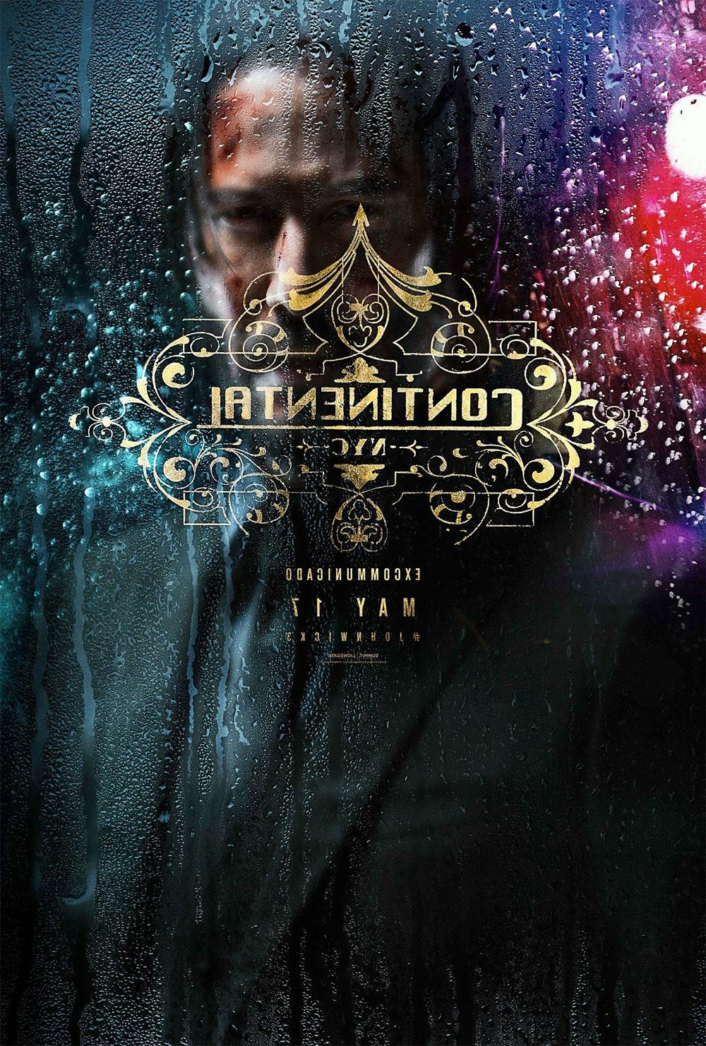 -  Dall'articolo: John Wick 3: Parabellum, il poster originale del film.
