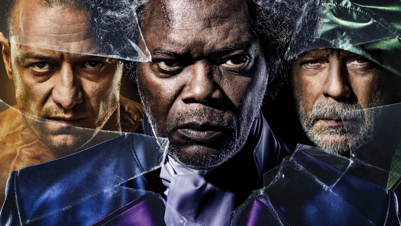 Glass parte forte: il film di Shyamalan subito al comando del box office