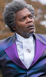 In foto Samuel L. Jackson (72 anni) Dall'articolo: Crollano gli incassi, Glass è l'unico film sopra i 100mila euro.