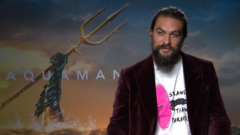 Jason Momoa: «Ecco le origini di Aquaman»