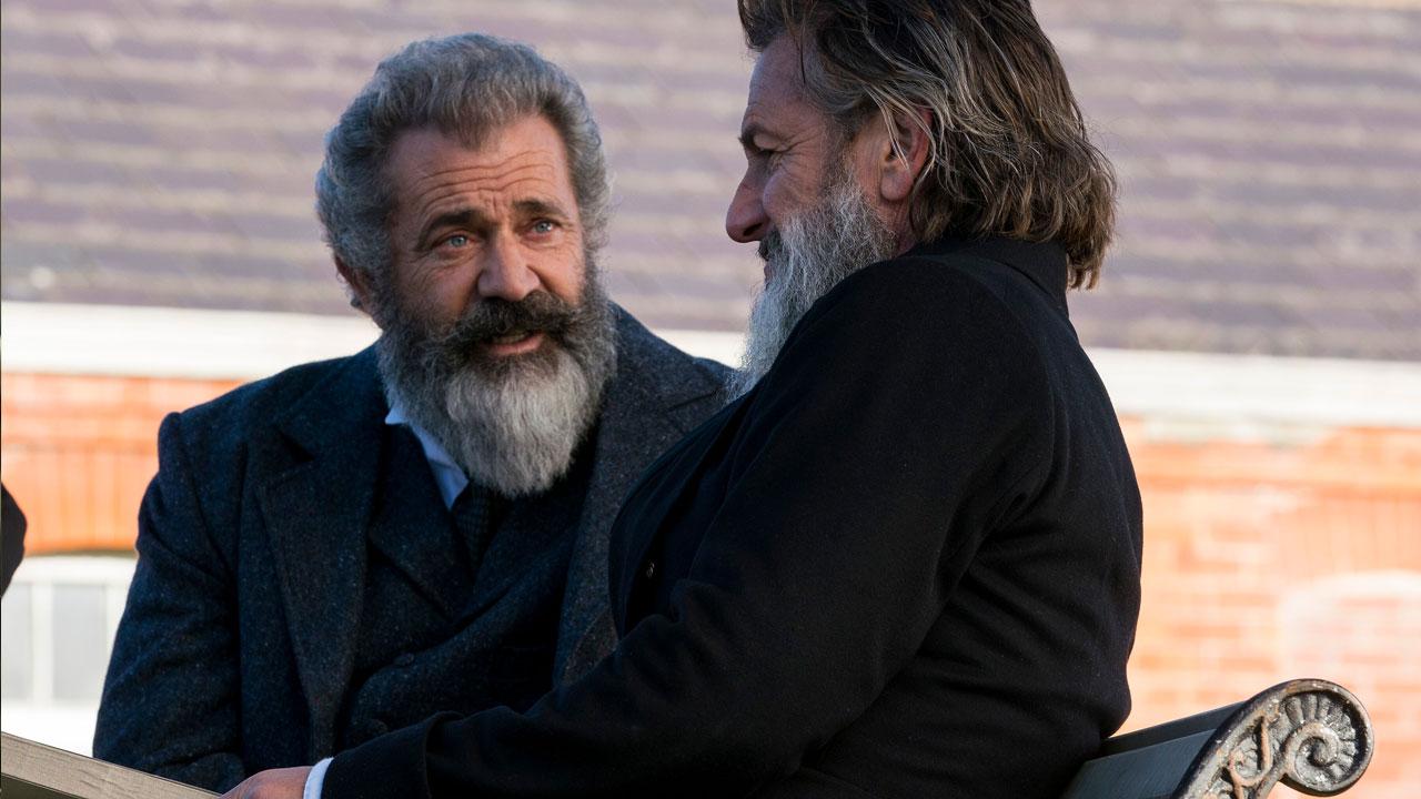 In foto Mel Gibson (64 anni) Dall'articolo: Il Professore e il Pazzo, da giovedì 21 marzo al cinema.
