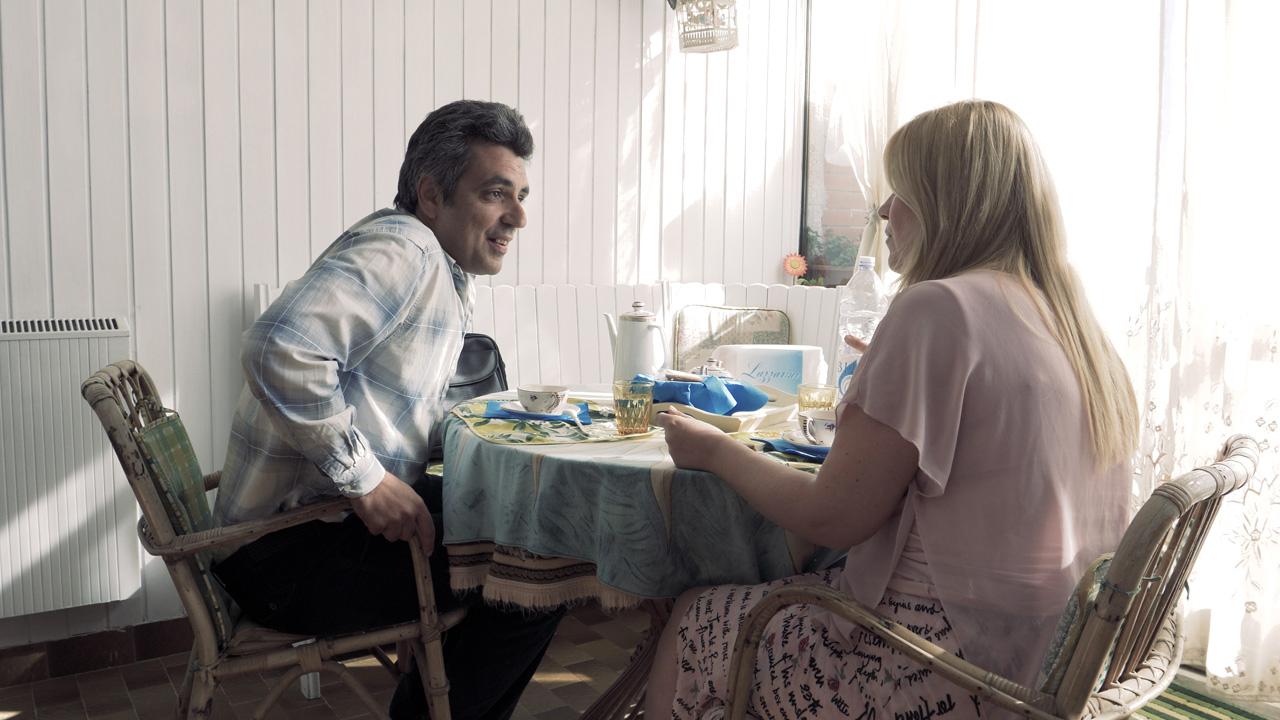 In foto Fabio Del Greco Dall'articolo: Mistero di un impiegato, un film ben girato ma troppo recitato.