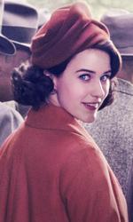 In foto Rachel Brosnahan (31 anni) Dall'articolo: La fantastica signora Maisel 2, il femminismo U.S.A. ha una nuova e irresistibile icona.