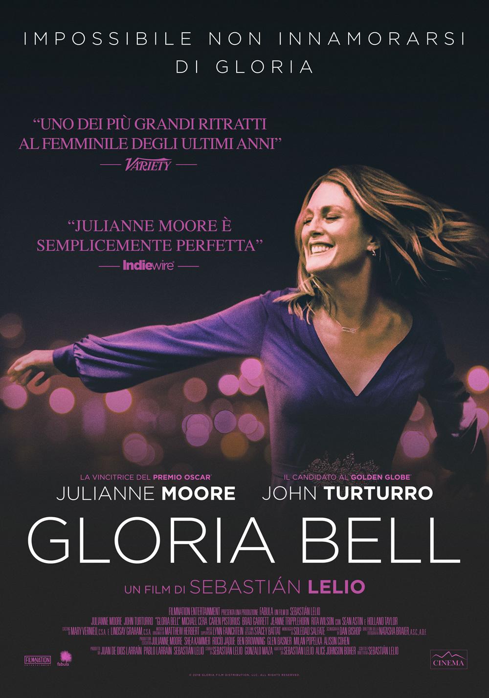 -  Dall'articolo: Gloria Bell, il poster italiano del film.