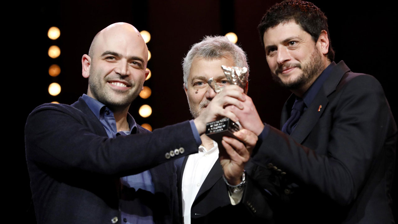 In foto Claudio Giovannesi (41 anni) Dall'articolo: Berlinale 2019, Miglior sceneggiatura a La paranza dei bambini.
