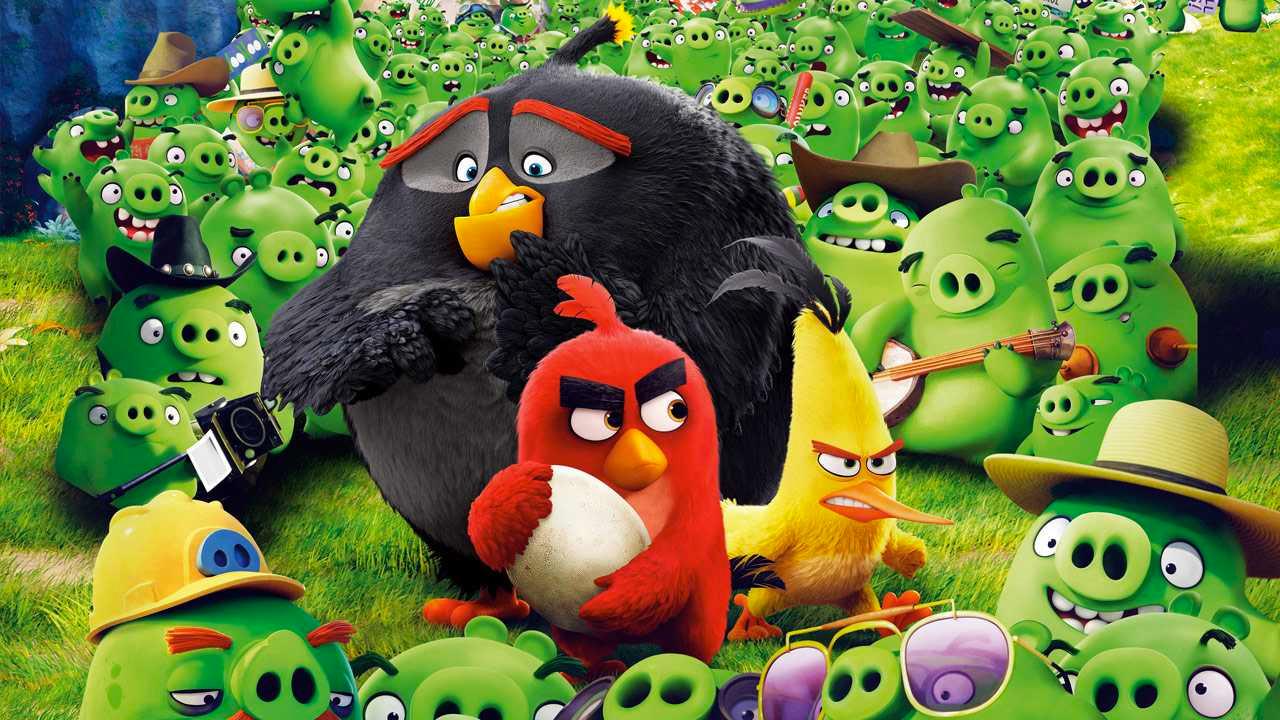-  Dall'articolo: Angry Birds 2, il teaser trailer originale del film [HD].