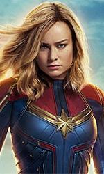 In foto Brie Larson (30 anni) Dall'articolo: Gran partenza per Captain Marvel: 765mila euro nel giorno d'uscita.