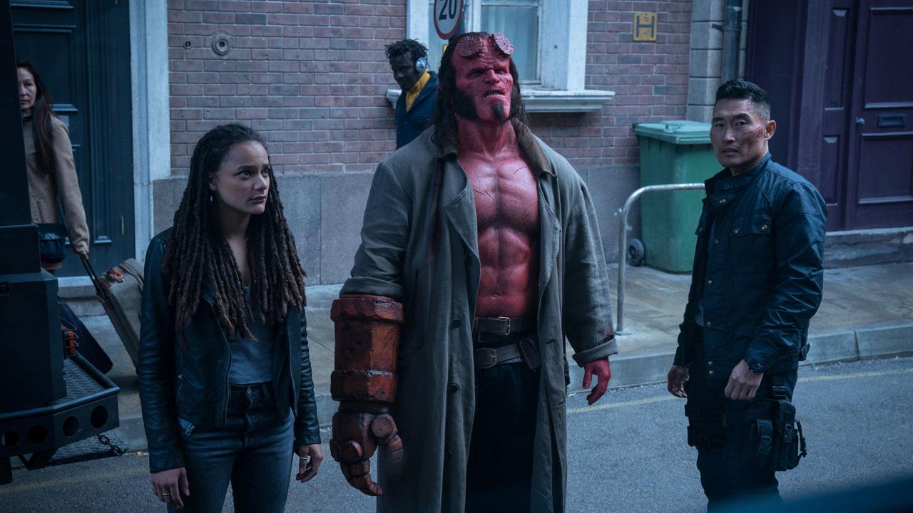 -  Dall'articolo: Hellboy, il nuovo trailer italiano del film [HD].