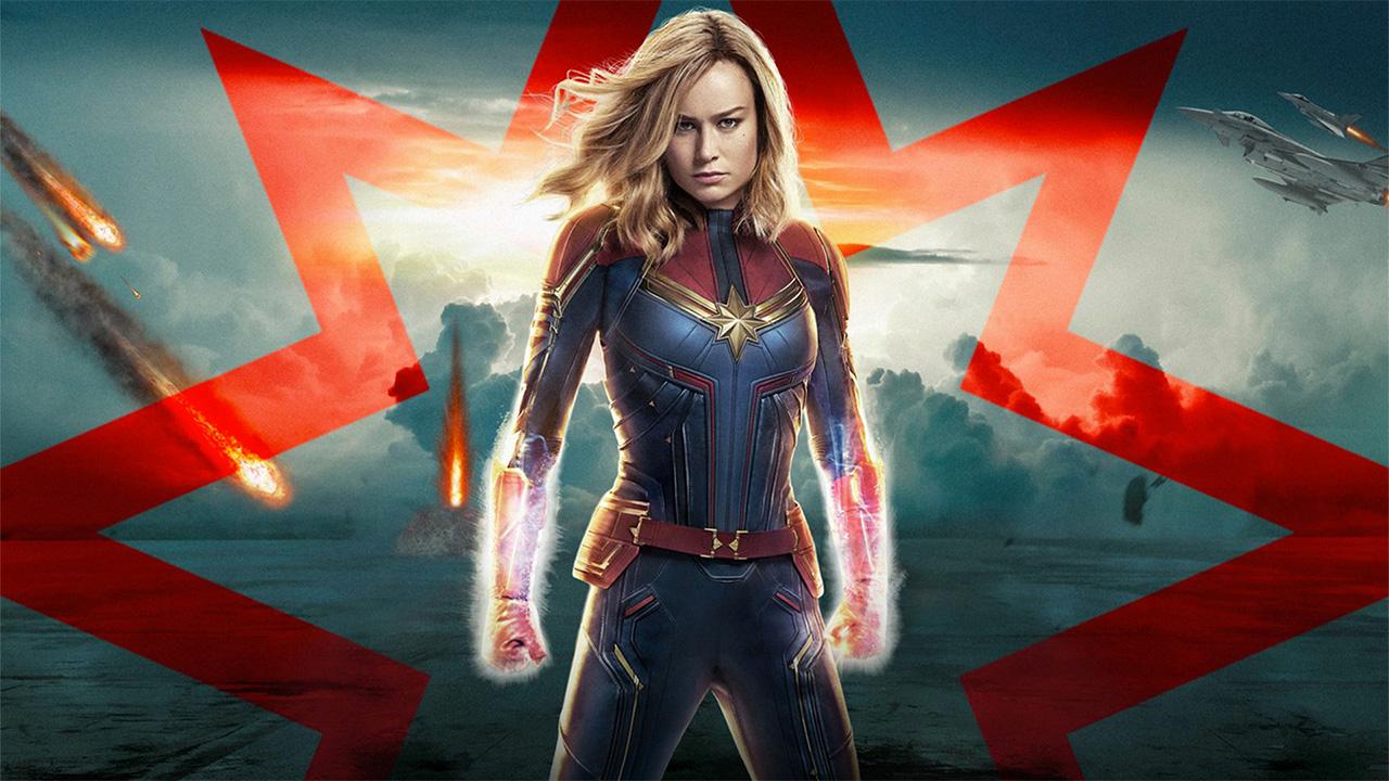 In foto Brie Larson (30 anni) Dall'articolo: Captain Marvel vince la sfida del giovedì: superato il milione al box office.