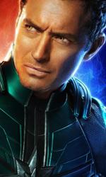 In foto Jude Law (47 anni) Dall'articolo: Captain Marvel rallenta ma mantiene senza fatica la vetta del box office.