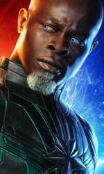 In foto Djimon Hounsou (55 anni) Dall'articolo: Captain Marvel vince un weekend poco memorabile sul fronte degli incassi.