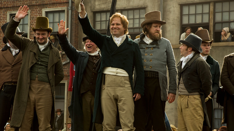 Peterloo, guarda l'inizio del film di Mike Leigh