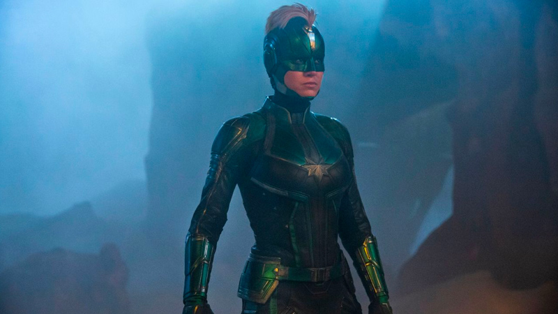 Box Office mondiali travolti dal ciclone Captain Marvel