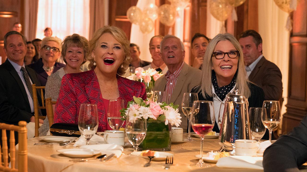 In foto Diane Keaton (74 anni) Dall'articolo: Book Club - Tutto può succedere, il trailer italiano del film [HD].