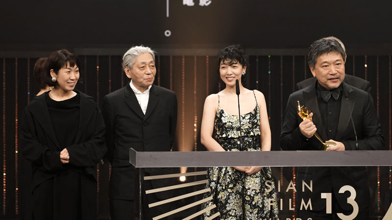 Asian Film Awards, Un affare di famiglia vince come miglior film