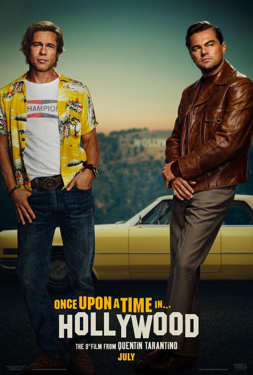 C'era una volta a Hollywood, il poster originale del film