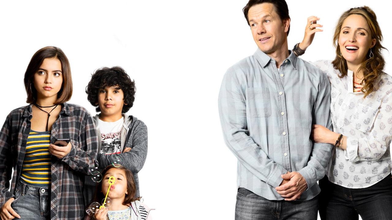 In foto Mark Wahlberg (50 anni) Dall'articolo: Instant Family, in equilibrio precario tra ironia e pedagogia.