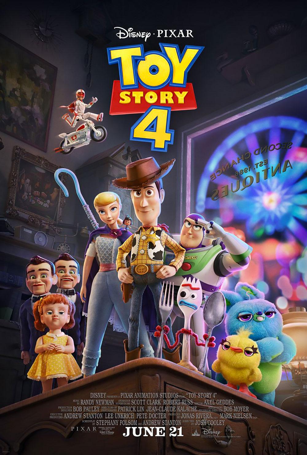 -  Dall'articolo: Toy Story 4, il poster originale del film.