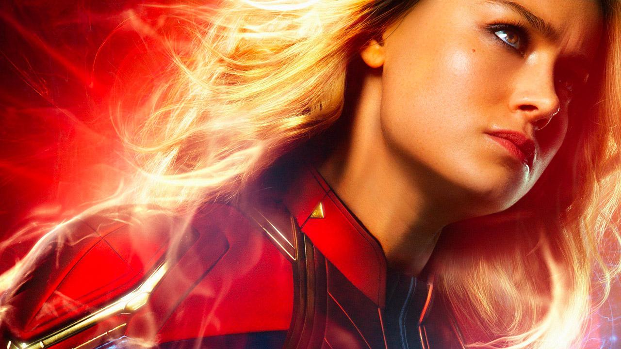 In foto Brie Larson (30 anni) Dall'articolo: Altra giornata fotocopia al box office: Captain Marvel ancora leader a 2 settimane dall'uscita.