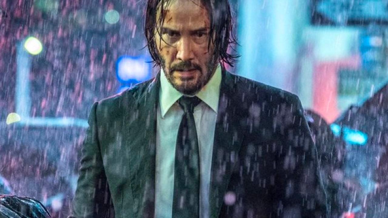 In foto Keanu Reeves (55 anni) Dall'articolo: John Wick 3: Parabellum, il nuovo trailer italiano del film [HD].