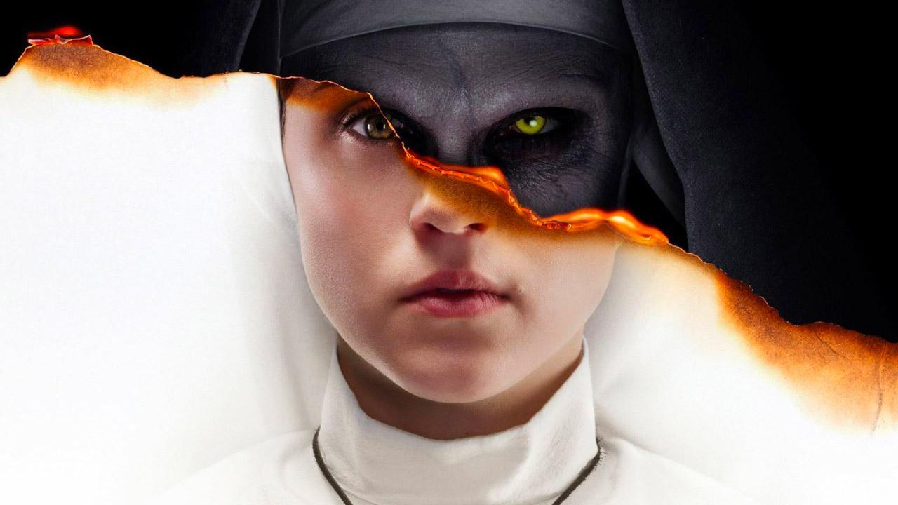 In foto Taissa Farmiga (26 anni) Dall'articolo: «Qui finisce Dio». The Nun, lo spin-off della serie The Conjuring.