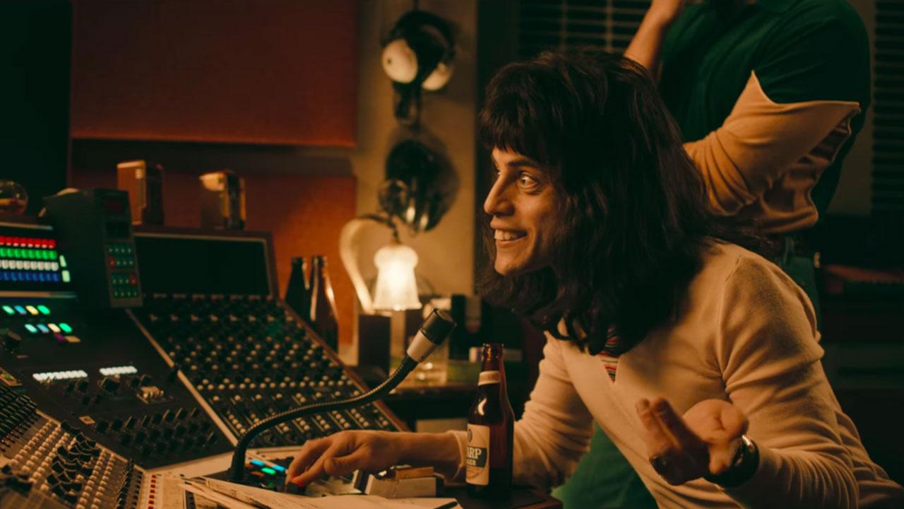 In foto Rami Malek (40 anni) Dall'articolo: Bohemian Rhapsody, su IBS il DVD del film campione d'incassi.