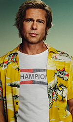 In foto Brad Pitt (56 anni) Dall'articolo: C'era una volta a... Hollywood, un atto d'amore per il cinema.