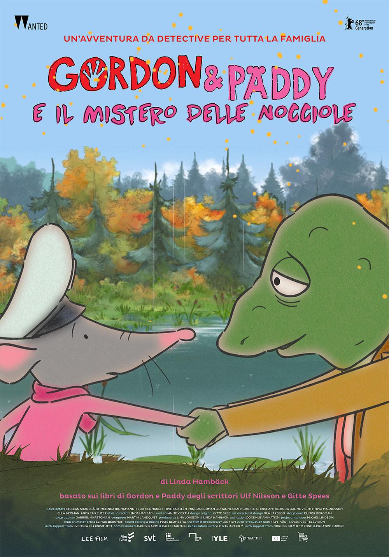 -  Dall'articolo: Gordon & Paddy e il Mistero delle Nocciole, il poster italiano del film.