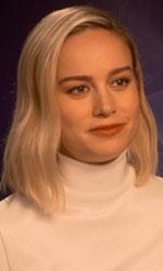 In foto Brie Larson (31 anni) Dall'articolo: Brie Larson: «Captain Marvel è un super essere umano».