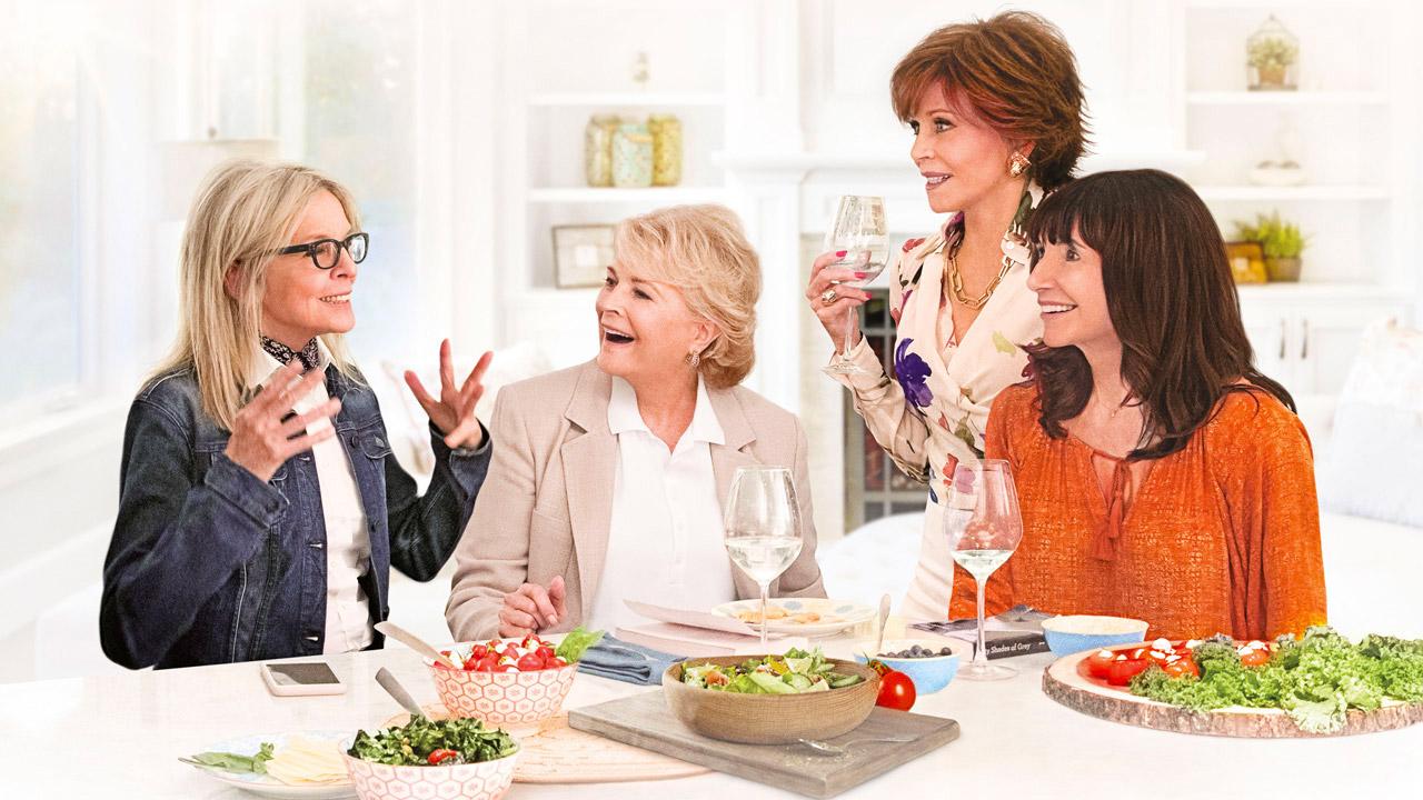 In foto Diane Keaton (74 anni) Dall'articolo: Book Club continua a sorprendere e sale sul podio del box office.