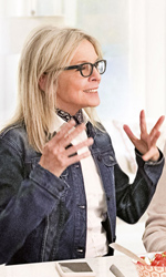 In foto Diane Keaton (73 anni) Dall'articolo: Book Club continua a sorprendere e sale sul podio del box office.