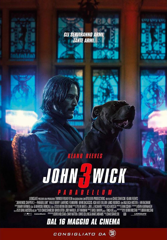 Risultati immagini per john wick 3 poster italia