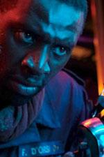 In foto Omar Sy (42 anni) Dall'articolo: Wolf Call - Minaccia in Alto Mare, da giovedì 27 giugno al cinema.