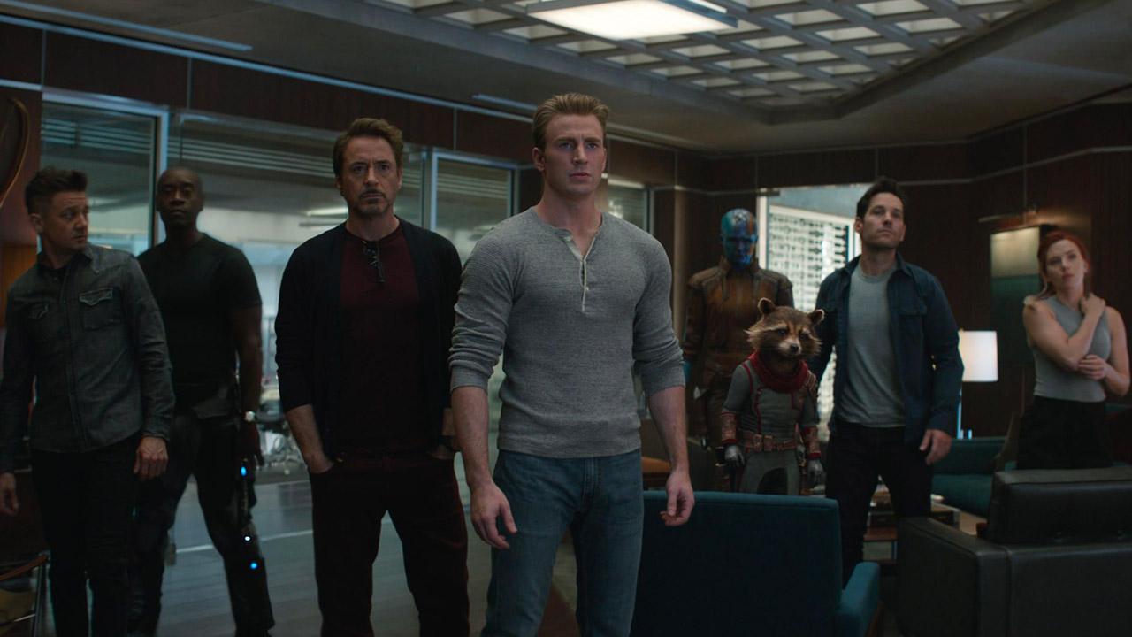 In foto Chris Evans (38 anni) Dall'articolo: Anche gli Avengers soffrono il giovedì: 'solo' 500mila euro per Endgame.