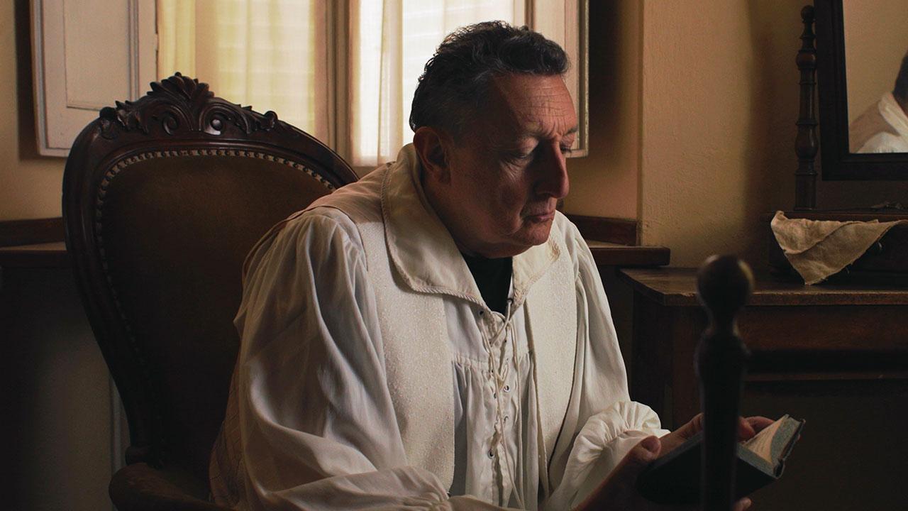 In foto Sandro Lombardi Dall'articolo: Dentro Caravaggio, il trailer del film [HD].