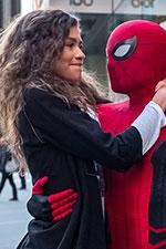In foto Zendaya (23 anni) Dall'articolo: Spider-Man: Far From Home, il nuovo trailer italiano del film [HD].