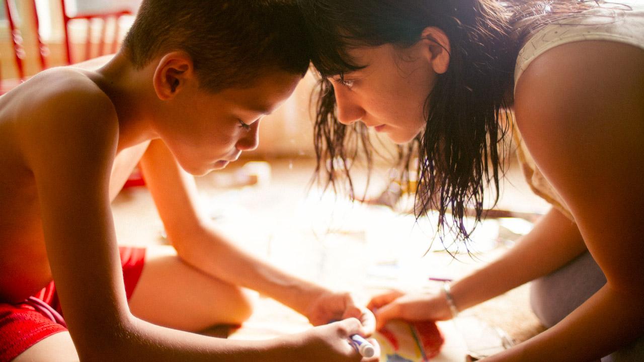 In foto Evan Rosado Dall'articolo: Quando eravamo fratelli, guarda l'inizio del film.