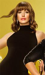 In foto Anne Hathaway (37 anni) Dall'articolo: Attenti a quelle due, un buon esempio di cinema medio e d'intrattenimento.