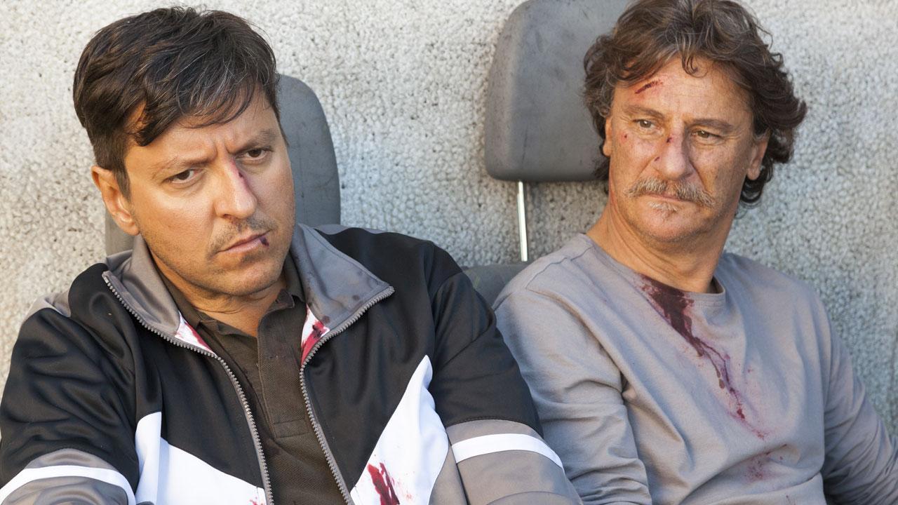 In foto Giorgio Tirabassi (59 anni) Dall'articolo: Il Grande Salto, il trailer ufficiale del film [HD].