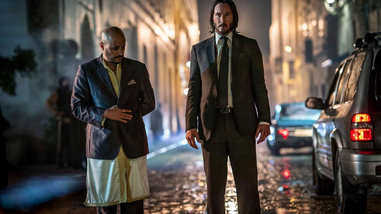 In foto Keanu Reeves (55 anni) Dall'articolo: John Wick 3 vola in testa alla classifica del box office.