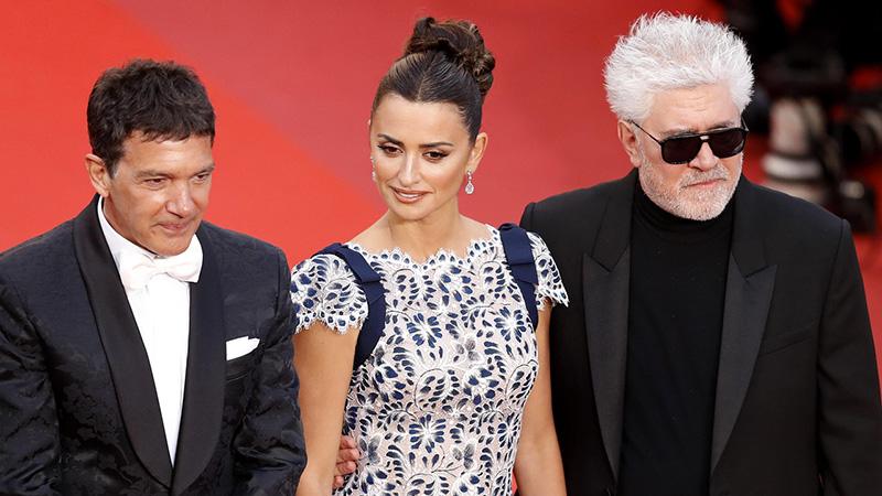 Cannes 2019, il trio spagnolo di Dolor y Gloria incanta il pubblico