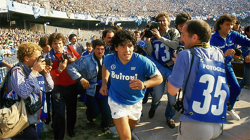 Diego Maradona, Asif Kapadia ritrae il campione, il mito, l'eroe caduto