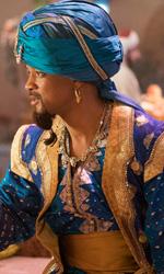 In foto Will Smith (52 anni) Dall'articolo: Aladdin, si conserva la dimensione incantata con qualche stoccata all'attualità.