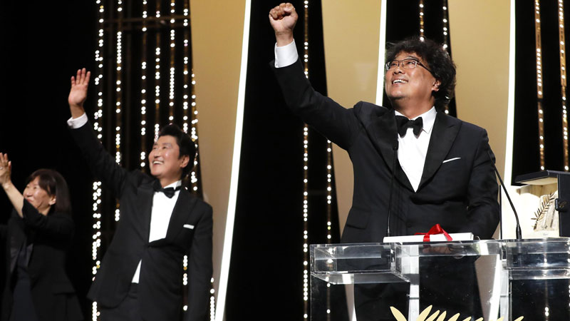 Cannes 2019, la Palma d'Oro è di Parasite di Bong Joon-Ho