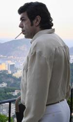 In foto Pierfrancesco Favino (51 anni) Dall'articolo: Il Traditore, un Bellocchio tra performance e crime internazionale.